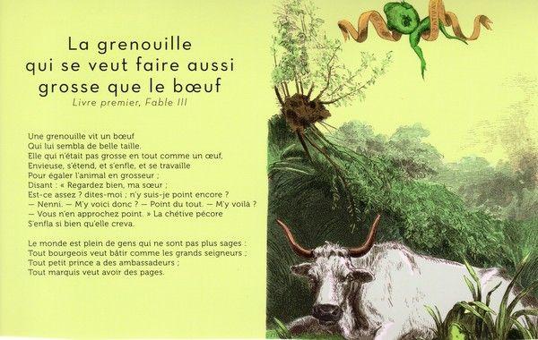 Fables de la fontaine page 13 - Image la grenouille et le boeuf ...