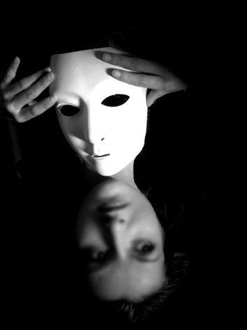 Le masque pour la personne combiné les personnes