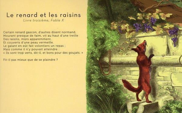 Fables de la fontaine page 11 - Dessin le renard et la cigogne ...