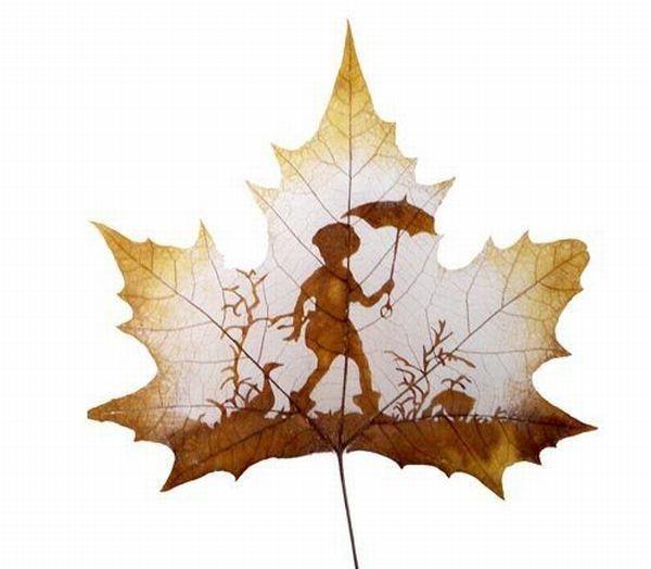 Chanson d 39 automne paul verlaine - Dessin feuille morte ...